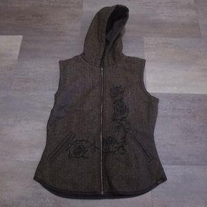 Prana Breathe Womens Reversible Vest Size Large